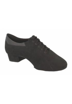 Galex - Franco - Black Nubuck  - Heel 2cm