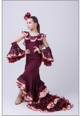 Flamenco costume set 01