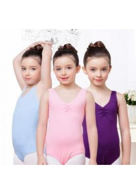 Ballet Girls Leotard Dress 05