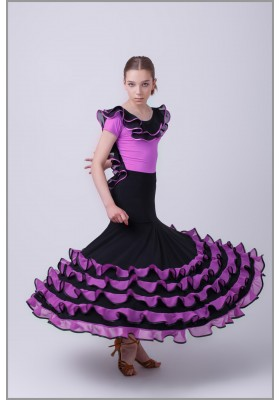 Flamenco costume set 04